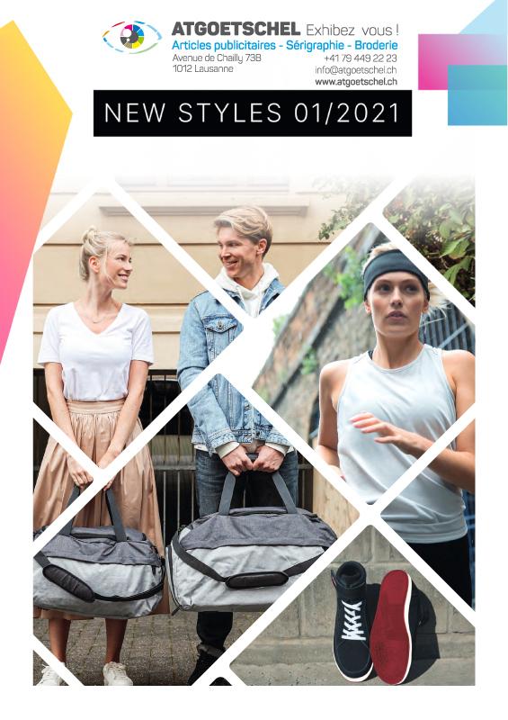 Catalogue des nouveautés textiles publicitaires