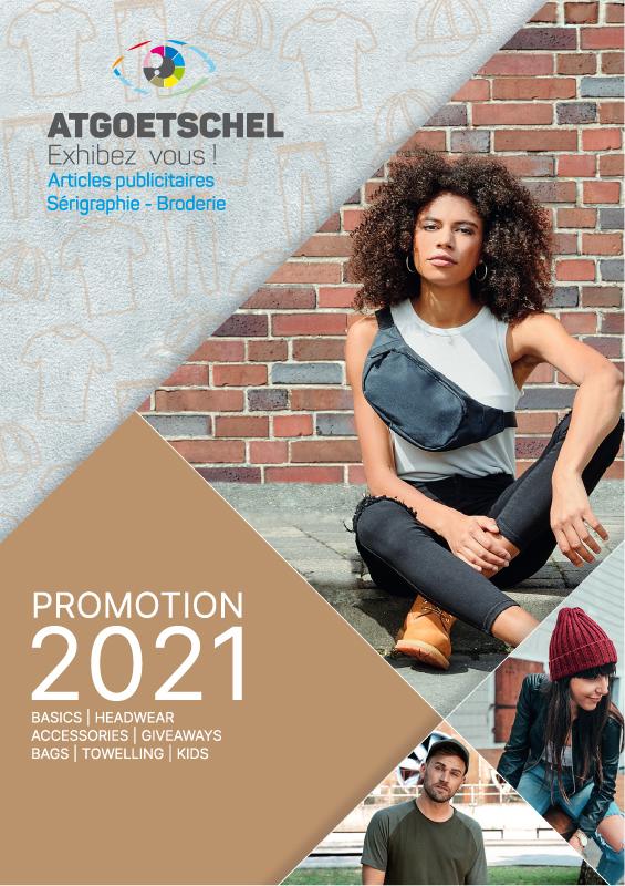 catalogue de vêtements promotionnels