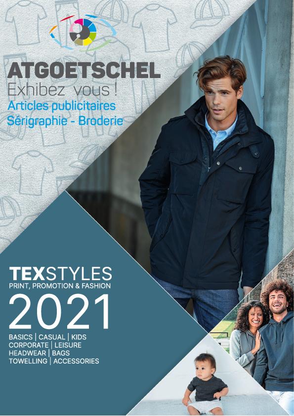 Catalogue général de vêtements publicitaires