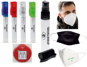 masques coronavirus et protections personnalisables